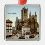 Vintage - Ghent, Belgium Ornaments