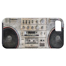 vintage ghetto blaster iPhone 5 covers