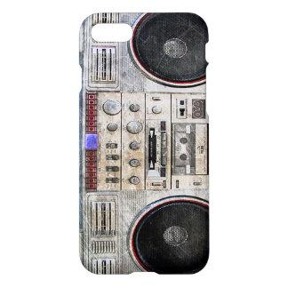 Vintage ghetto blaster iPhone 7 case