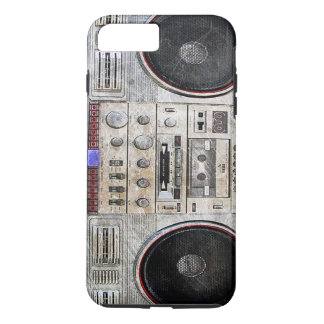 Vintage ghetto blaster iPhone 7 plus case