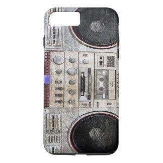 Vintage ghetto blaster iPhone 8 plus/7 plus case