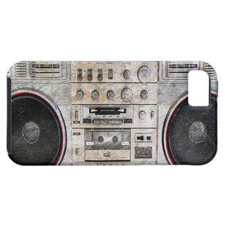 vintage ghetto blaster iPhone SE/5/5s case