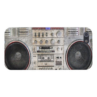 Vintage ghetto blaster iPhone SE/5/5s cover
