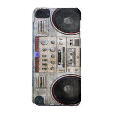 Vintage Ghetto Blaster Ipod Touch (5th Generation) Case at Zazzle