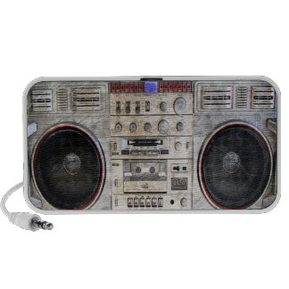 vintage ghetto blaster iPhone speaker