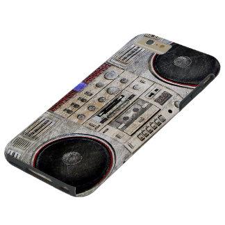 Vintage ghetto blaster tough iPhone 6 plus case