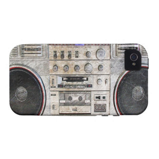 vintage ghetto blaster vibe iPhone 4 cover