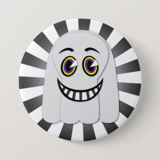 Vintage Ghost Button