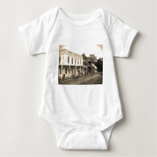 Vintage Ghost Town Hotel Baby Bodysuit