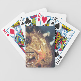 Vintage Ghost Town Hotel Bicycle Playing Cards