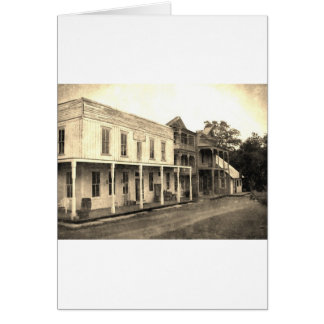 Vintage Ghost Town Hotel Card