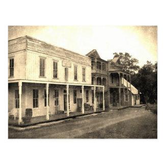 Vintage Ghost Town Hotel Postcard