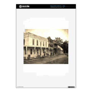 Vintage Ghost Town Hotel Skins For iPad 2