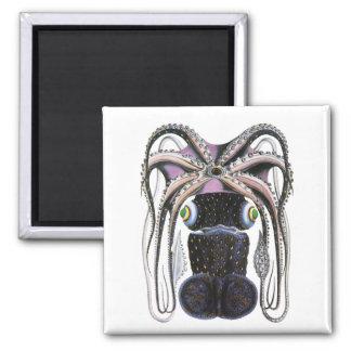 Vintage Giant Octopus or Squid, Marine Life Animal Magnet