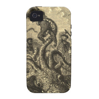 Vintage Giant Squid Sea Monster Case iPhone 4/4S Cover