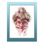 Vintage Gibson Girl Style Illustration Cards Post Cards