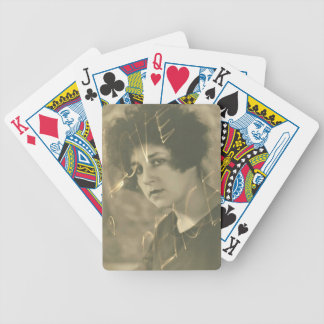 Vintage gift from The Good Old Times Bicycle Playing Cards