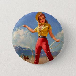 Vintage Gil Elvgren Ranch Western Pin up girl