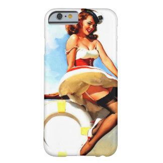 Vintage Gil Elvgren Sailor Nautical Pin up Girl iPhone 6 Case