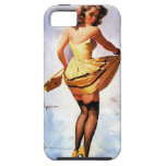 Vintage Gil Elvgren Splash in the City Pinup Girl iPhone 5 Cover