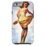 Vintage Gil Elvgren Splash in the City Pinup Girl Tough iPhone 6 Case