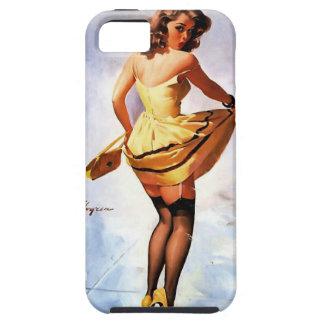 Vintage Gil Elvgren Splash in the City Pinup Girl iPhone SE/5/5s Case
