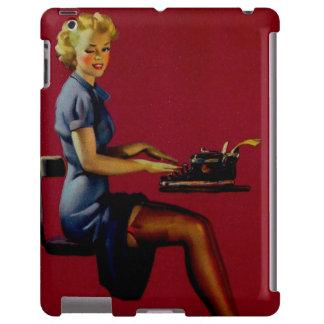Vintage Gil Elvgren Writer Pinup girl