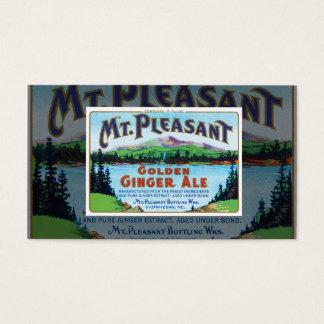 Vintage Ginger Ale Business Card