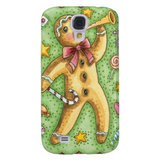 Vintage Gingerbread Man Christmas iPhone Case
