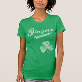 Vintage Gingers Shamrock St Patrick's Day T-Shirt