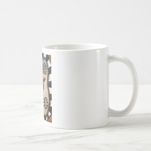 VINTAGE GIRAFFE COFFEE MUG