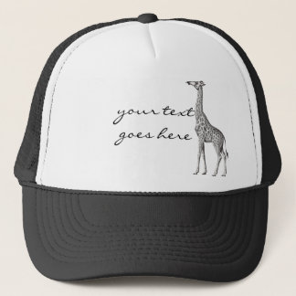 Vintage Giraffe Trucker Hat