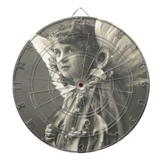 Vintage Girl Angel Symbol of Hope 1900s Anchor Dart Boards