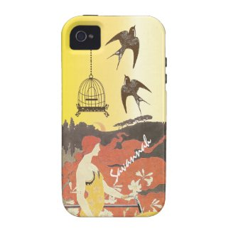 Damask Peacock & Feather You Choose Color Vibe iPhone 4 ...