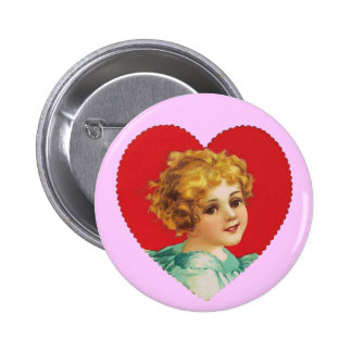 Vintage Girl in Heart #2 Pin