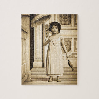 Vintage Girl Jigsaw Puzzles