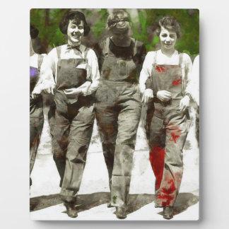 Vintage Girls - Fun, Feminist Art Plaque