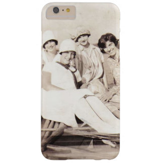 Vintage Girls in Row Boat 1920s Barely There iPhone 6 Plus Case