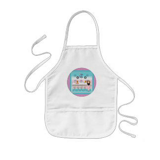 Vintage Girls T-Shirts and Gifts Kids' Apron