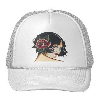 Vintage Girly Girl Trucker Hat