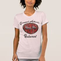 Vintage Giuseppi's Authentic Pizza Pie Restaurant T-Shirt