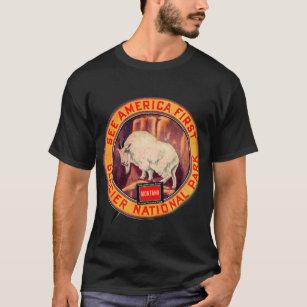 ba3a3969f Vintage National Park T-Shirts - T-Shirt Design & Printing | Zazzle