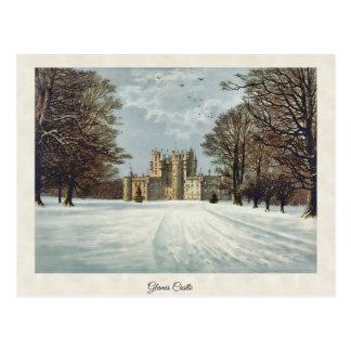 Vintage Glamis Castle Forfar Scotland Postcard