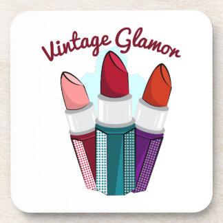 Vintage Glamor Drink Coaster