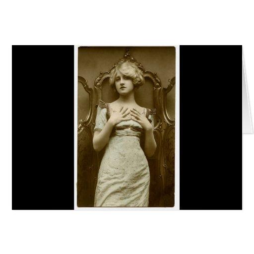 Vintage Glamour Girl Cards