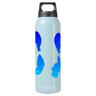 Vintage Glamour Girl Insulated Water Bottle