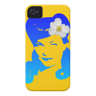 Vintage Glamour Girl iPhone 4 Case