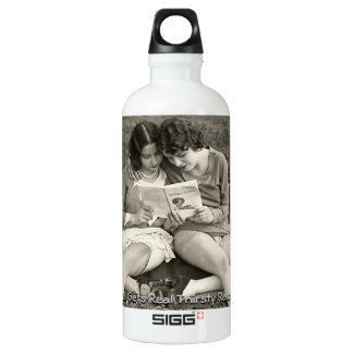 Vintage Glamour Girls Aluminum Water Bottle