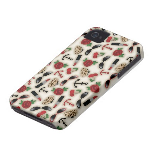 Vintage Glamour Inspired iPhone 4 Case