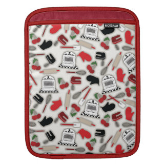 Vintage Glamour Kitchen Rickshaw Sleeve For iPad